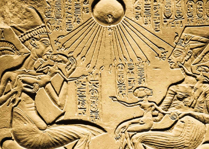 Akhenaten and The Great Hymn To The Aten - Trips in Egypt