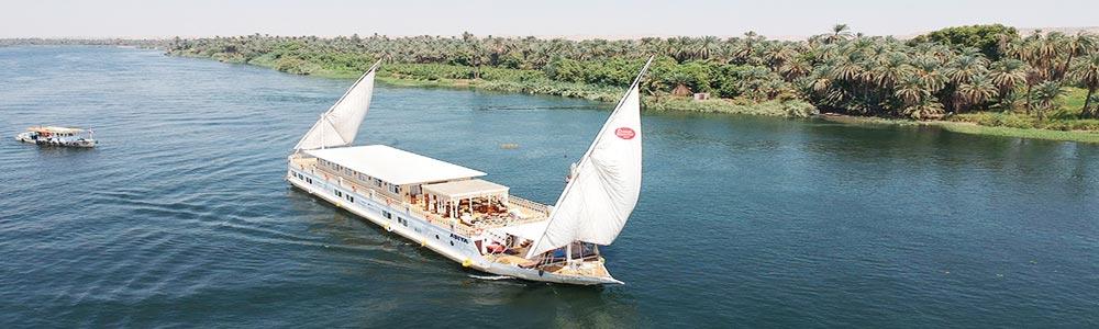 5 Days Asiya Dahabiya Nile Cruise from Luxor - Trips in Egypt