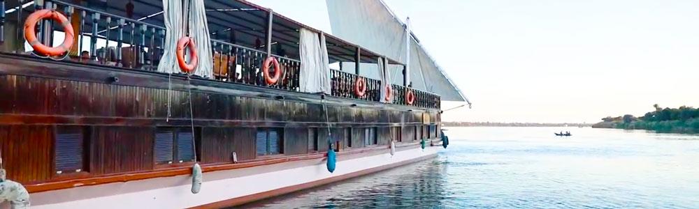 8 Days Nebyt Dahabiya Nile Cruise From Luxor - Trips in Egypt